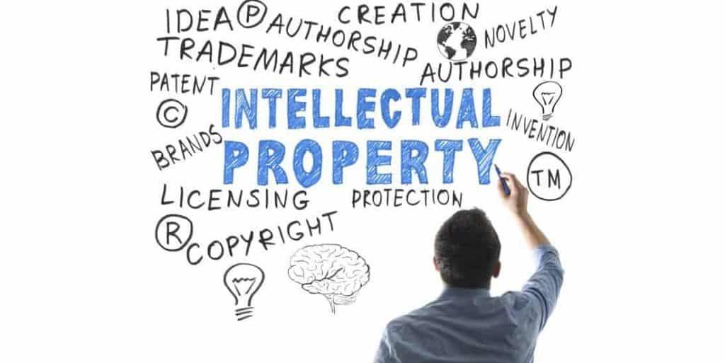 Illustratie van Intellectual Property