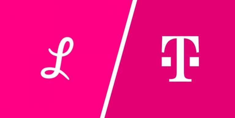 De logo's van Lemonade en Deutsche Telecom en de kleur Magenta